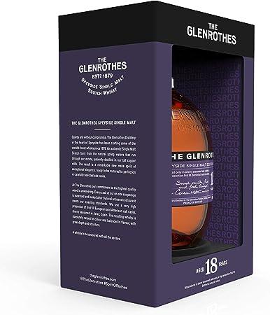 The Glenrothes 18 Single Malt Whisky Escoces, 43% - 700 ml