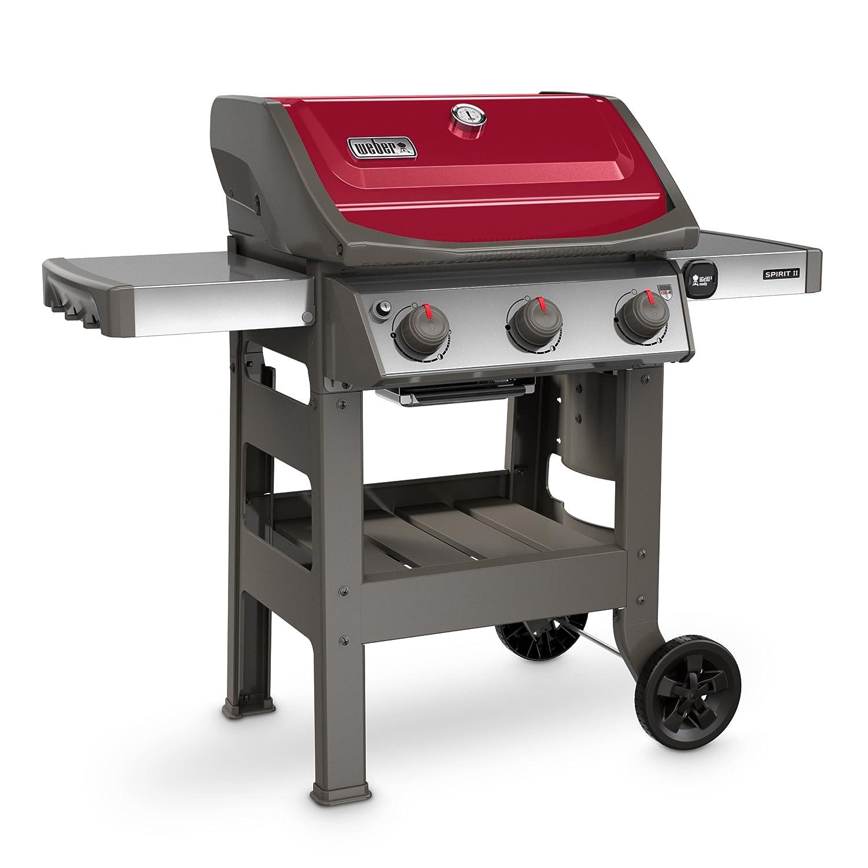Amazoncom Weber 45030001 Spirit Ii E 310 Red Lp Outdoor Gas Grill