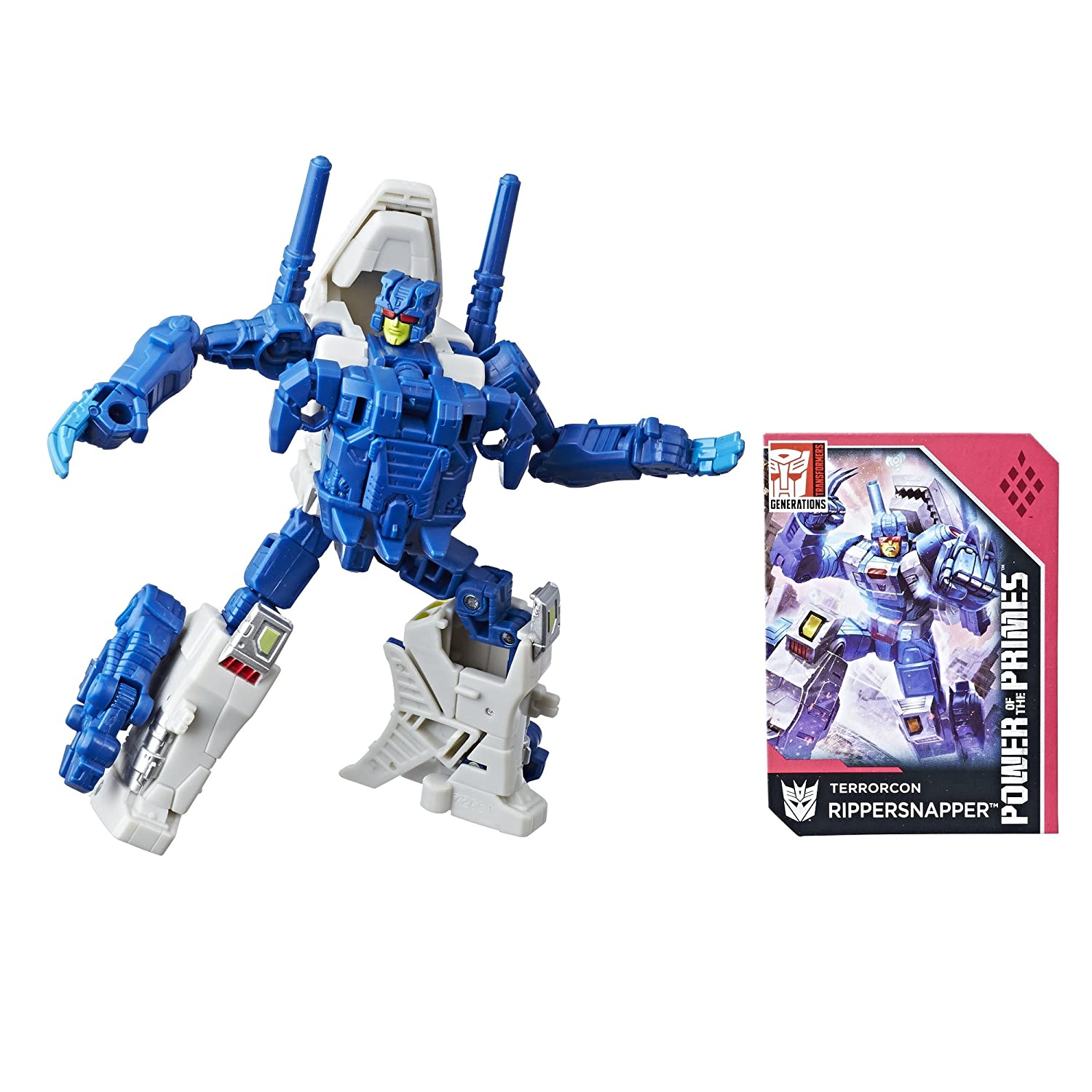 Transformers Generations Power of the Primes Deluxe Terrorcon Rippersnapper Hasbro E1129