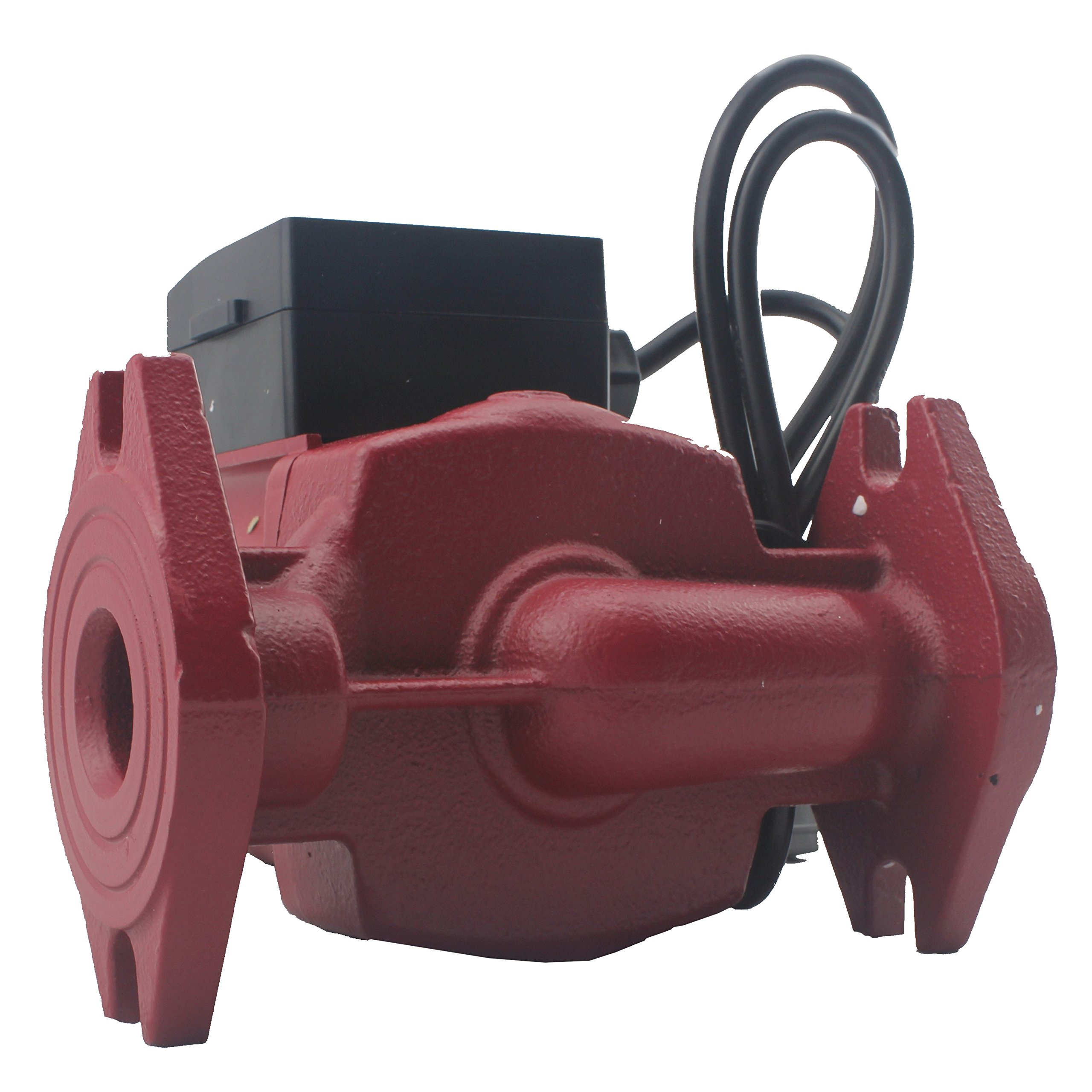WiseWater Circulation/Circulating Pump with Internal Threaded Flanges - Up to 19.7 Feet Head Range, 3 Speed Switchable for Hydronic Radiant Heating and Plumbing by AB (Image #2)
