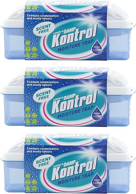 Kontrol – Caja secadora antihumedad/deshumidificador: Amazon.es: Jardín