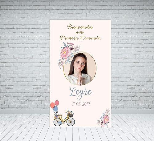 Cartel Bienvenida Comunión: Amazon.es: Handmade