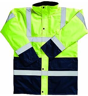 Blackrock 80004 Orange High Visibility Coat EN20471 Class 3
