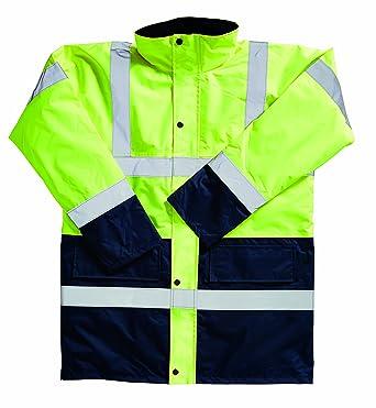 Manteau homme Blackrock visibilité Jaunebleu haute à Bicolore pour SqCWEwvC4