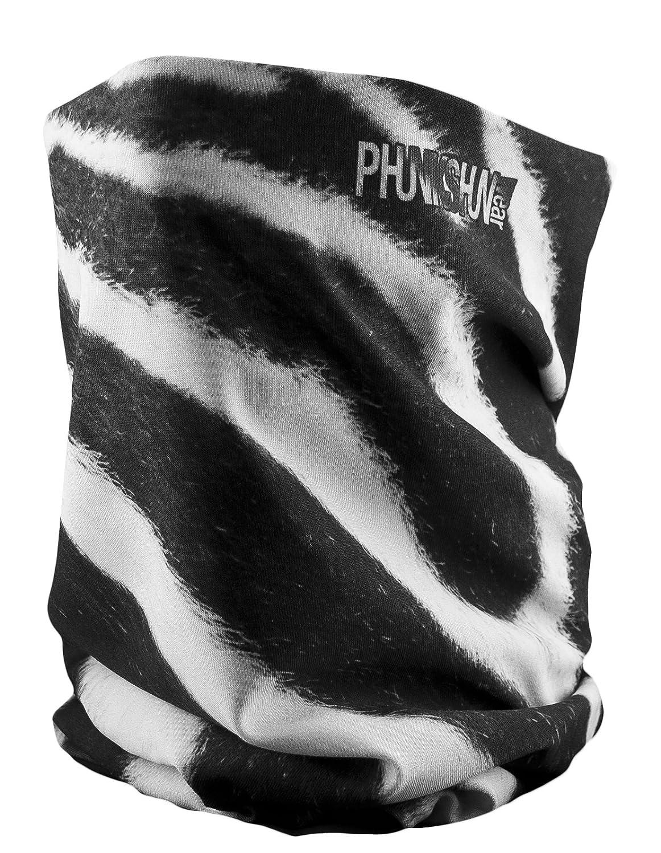 phunkshun desgaste - doble capa cuello tubo - nuestros más populares y versátil o braga para cuello calentador de cuello - con acabado que repele el agua y ...
