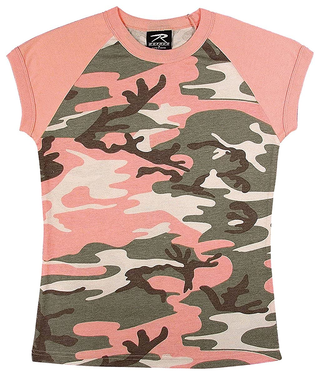 Rothco Short Sleeve Camo Raglan T-Shirt RSR Group Inc
