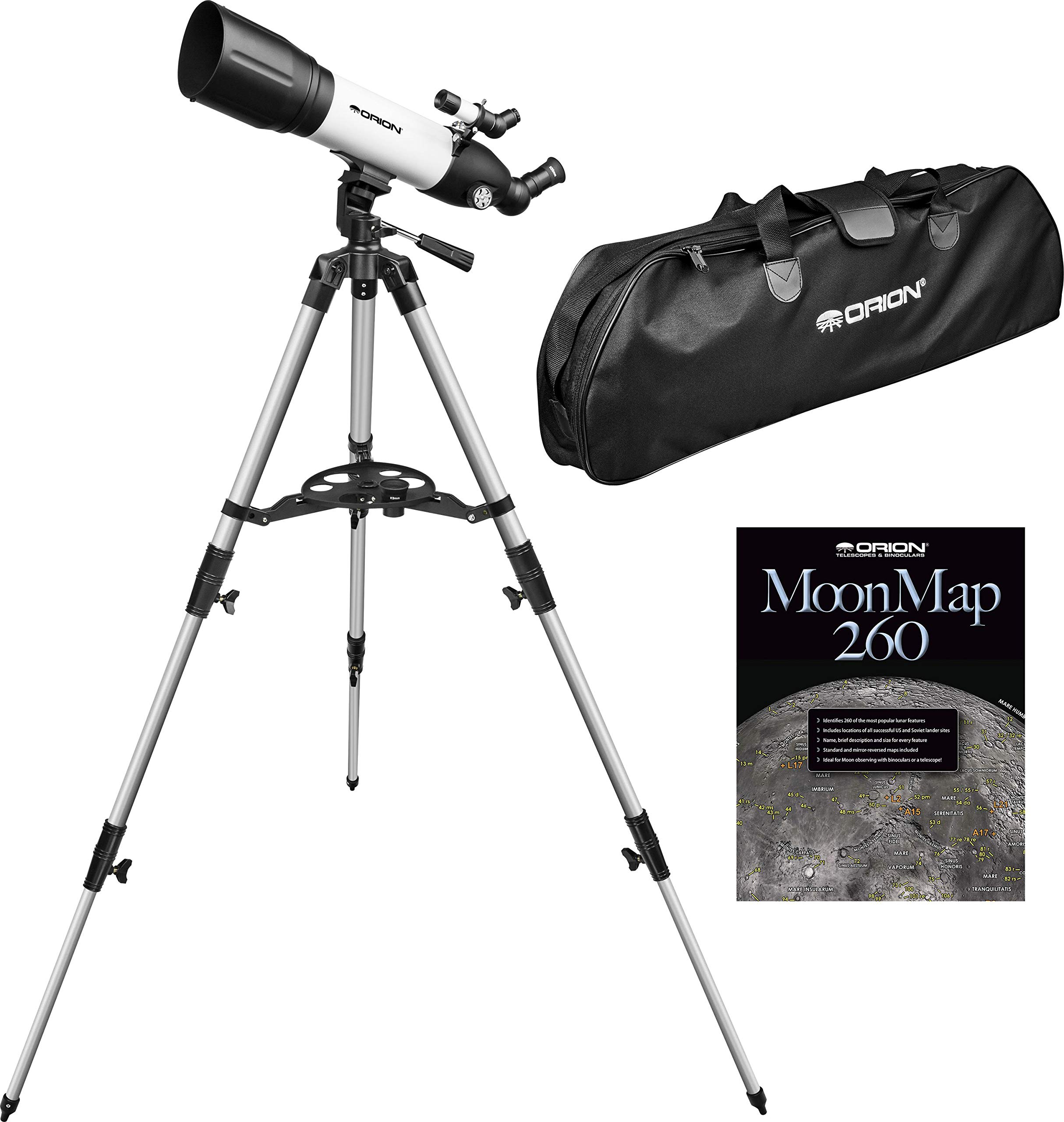 Orion 10282 STARBLAST 90mm Altazimuth Travel Refractor Telescope by Orion