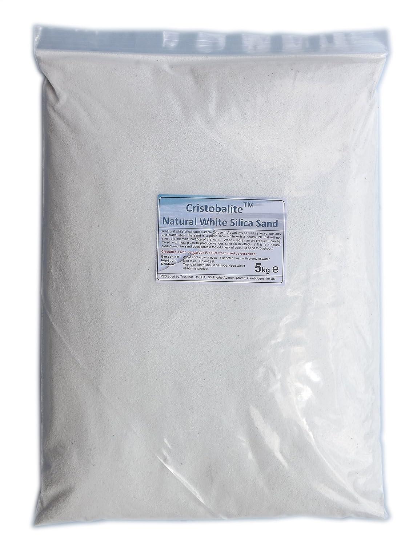 10kg White Decorative Sand - Suitable for Aquariums Trustleaf