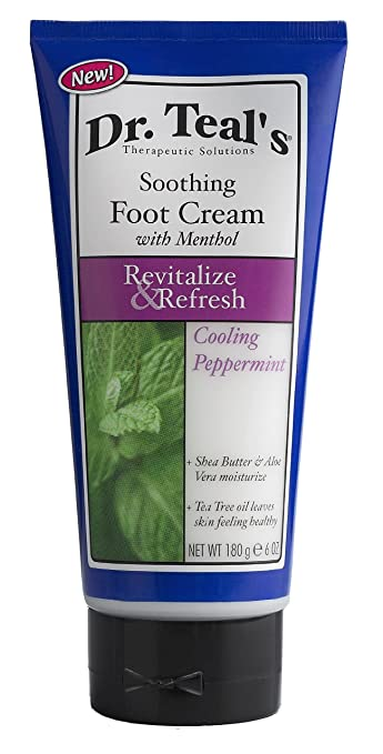 menthol foot cream