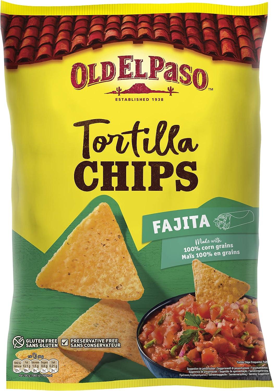 Old El Paso Nachos Fajita, 185g: Amazon.es: Alimentación y ...