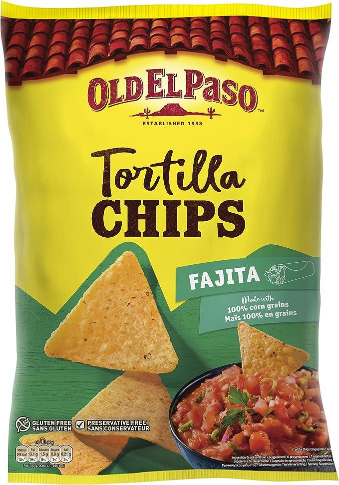 Old El Paso - Nachos Fajita, 185g: Amazon.es: Alimentación y bebidas