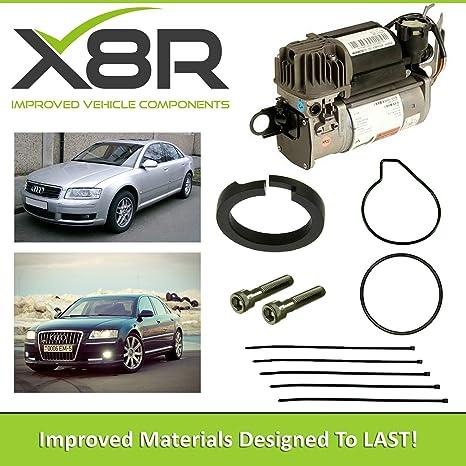 Audi A8, D3, 4E WABCO AIR SUSPENSION COMPRESSOR PISTON RING REPAIR FIX KIT  X8R45
