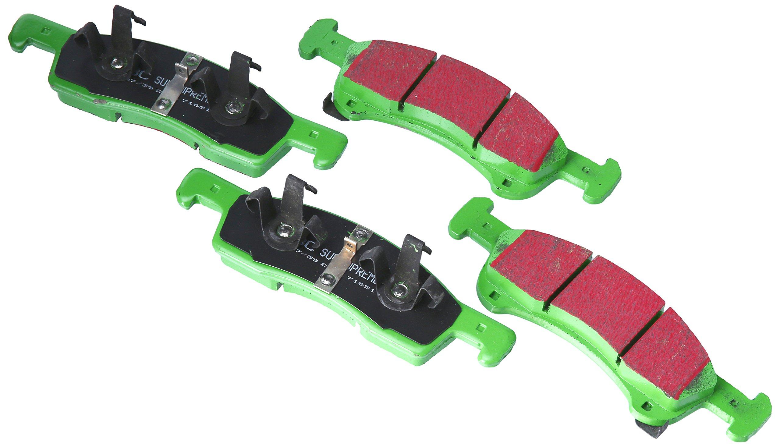 EBC Brakes DP71651 7000 Series Greenstuff SUV Supreme Compound Brake Pad
