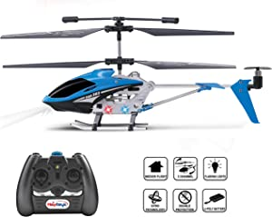 Haktoys 3.5 Channel Mini RC Radio Remote Control Helicopter with Gyro Stabilization   Ready-to-Fly   Colors May Vary