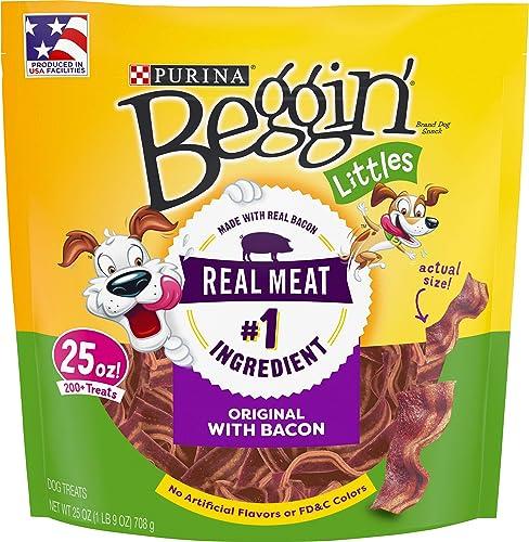 Purina Beggin Littles Bacon Flavor Adult Dog Treats