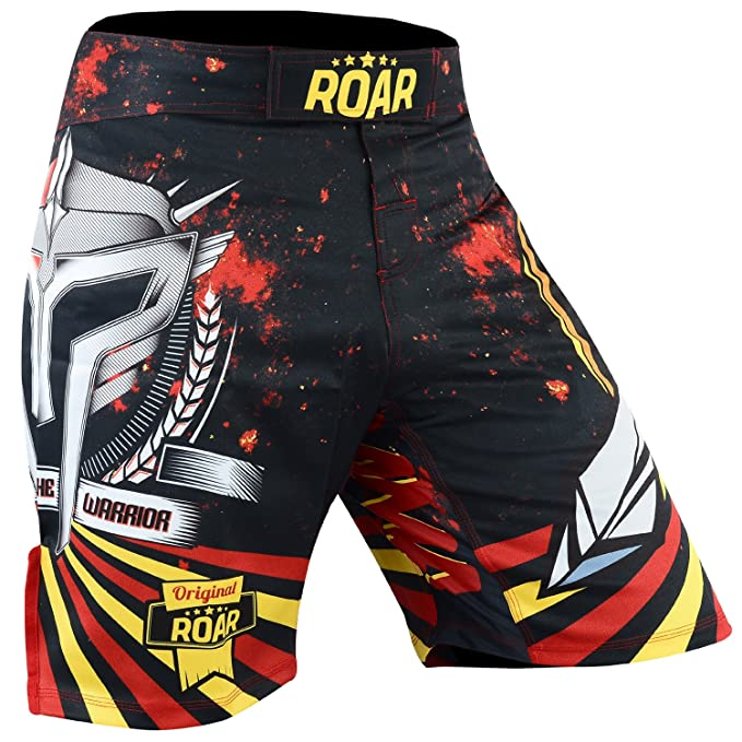 ROAR MMA Shorts UFC Cage Fight Kick Boxing Muay Thai Martial Arts Gym Wear Trunk
