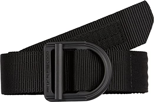 Fade-and Fray-Resistant Nylon Webbing Style 59551 5.11 Tactical Mens 1.5-Inch Convertible TDU Belt