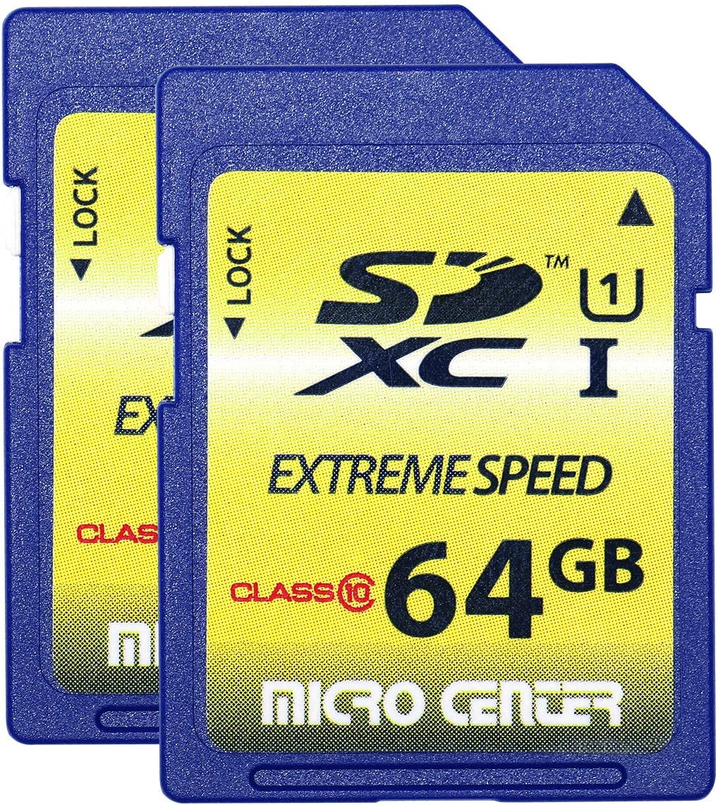 Micro Center 64GB SDXC Flash Memory Card