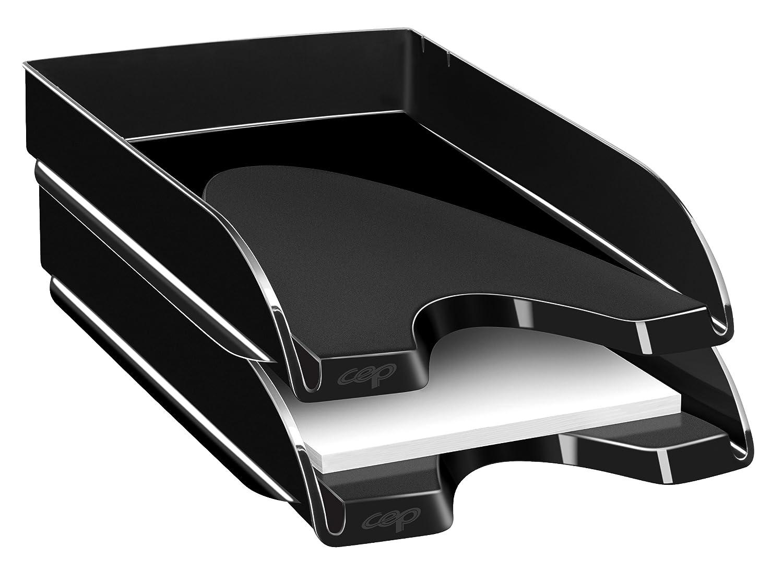Cep 1202000161 - Bandejas compactas (2 unidades), color negro: Amazon.es: Oficina y papelería