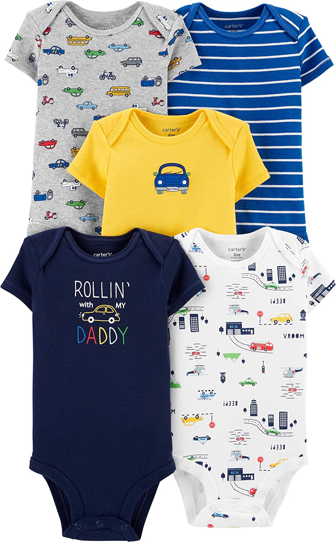De Carter Baby Girls /'4/Pack Bodies para /varios colores / beb/é