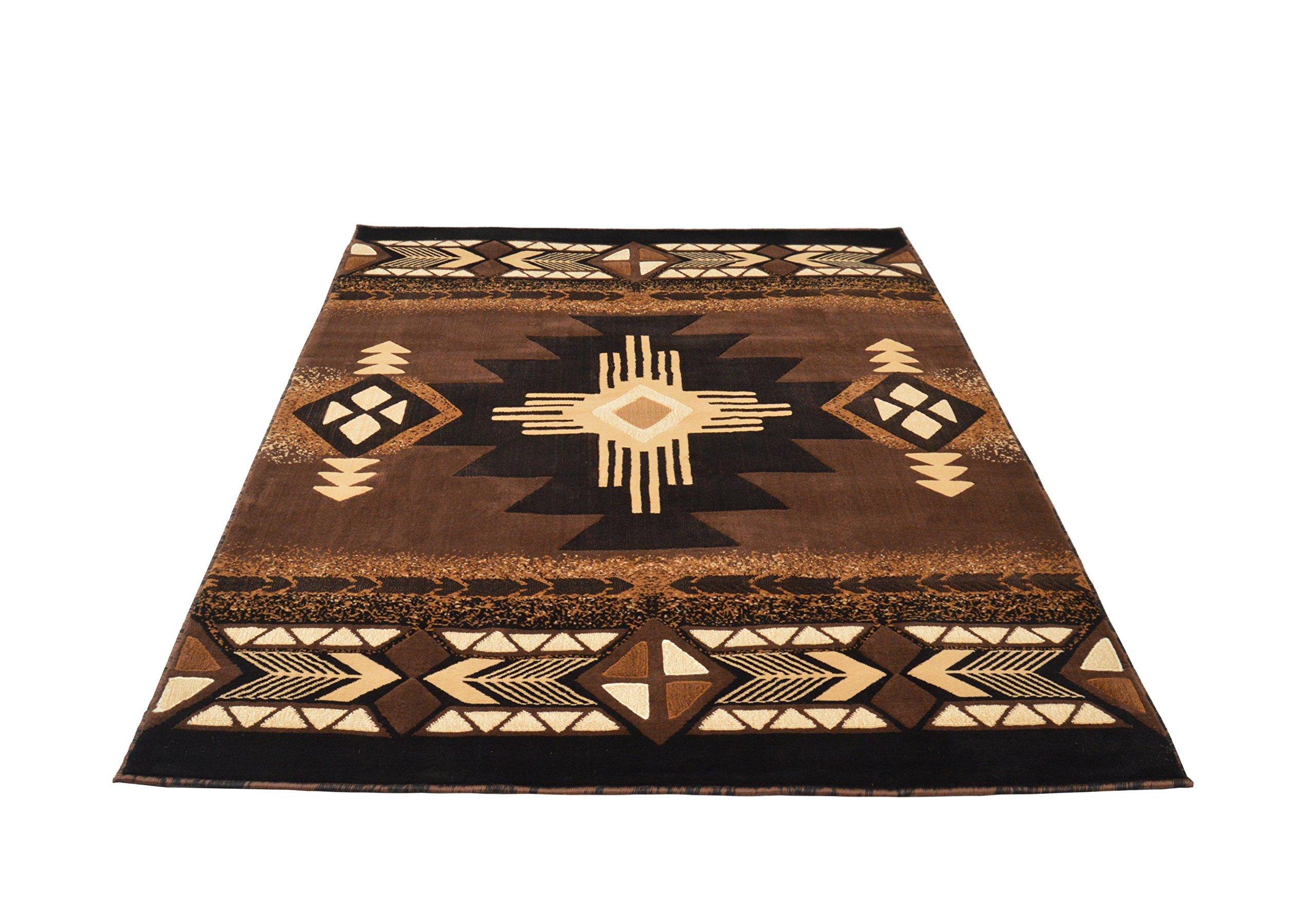 rugs 4 less collection southwest native american indian area rug design r4l 318 617762575846 ebay. Black Bedroom Furniture Sets. Home Design Ideas