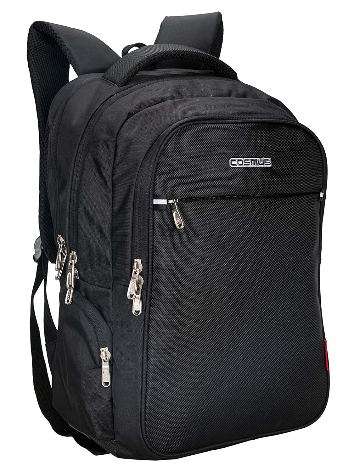 Cosmus Atomic Dx 3 Compartment Large Laptop Bag - Black Polyester  Waterproof Laptop Backpack  Amazon.in  Bags 04d5fc0b53a38