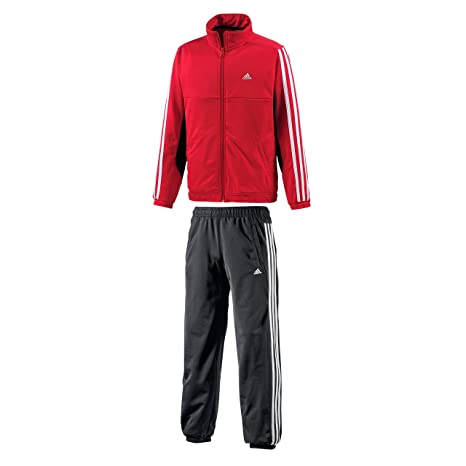adidas Performance Chándal Infantil, Color Rojo y Negro, tamaño ...