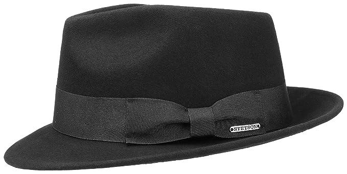 Stetson - Sombrero de Vestir - para Hombre 1-Schwarz Small  Amazon.es  Ropa  y accesorios a72b000eee2