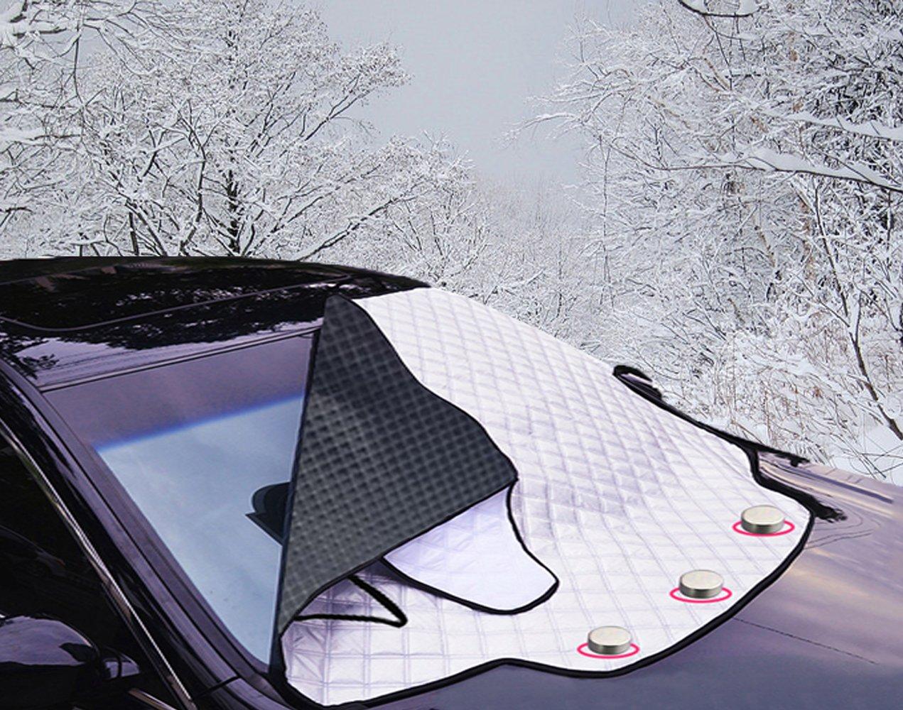 Windschutzscheiben-Abdeckung Frontscheiben-Abdeckung Thermoabdeckung Winter NEU