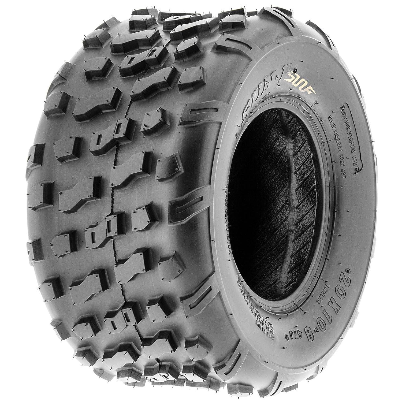 SunF A022 20x10-9 [20x10x9] ATV/UTV Off-Road Tire, 6-PR |Knobby Tread Sun.F 4333411872