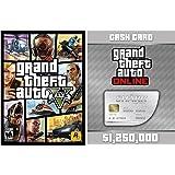Grand Theft Auto V (日本語版) + Great White Shark Cash Card (GTAマネー$1,250,000) Pack [オンラインコード]