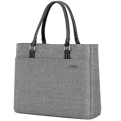 be402a865 DTBG Laptop Tote Bag, 15.6 Inch Women Shoulder Bag Nylon Briefcase Casual Handbag  Laptop Case