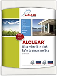 ALCLEAR 950002 Ultra-microfiber Cloth for Window, glass cleaning and clear water - nothing