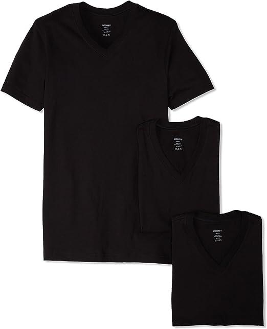 2(x)ist 3 Pack Camisas Hombre, Algodón Esencial, Cuello V, Manga ...