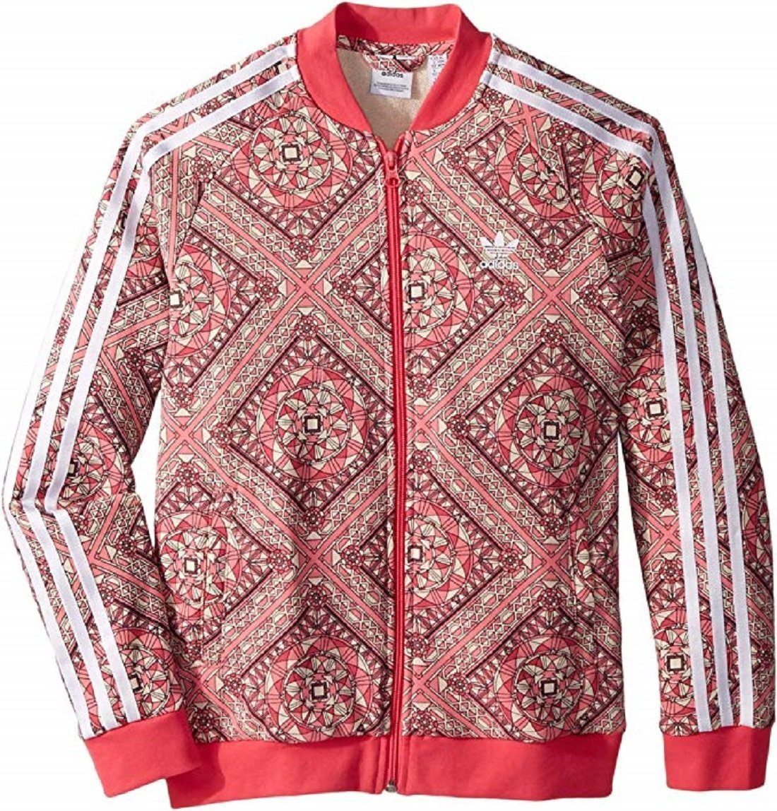 adidas Originals Kids Girl's Superstar Stained Glass Track Top (L) by adidas Originals