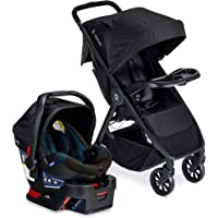 Britax B-Clever Lightweight Stroller B-Safe 35 Infant Car Seat Travel System with Child Tray One Hand, Easy Fold…
