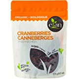 ELAN Organic Dried Cranberries 175 Gram