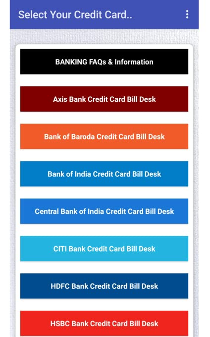 Amazon Com Credit Card Bill Pay Info Appstore For Android