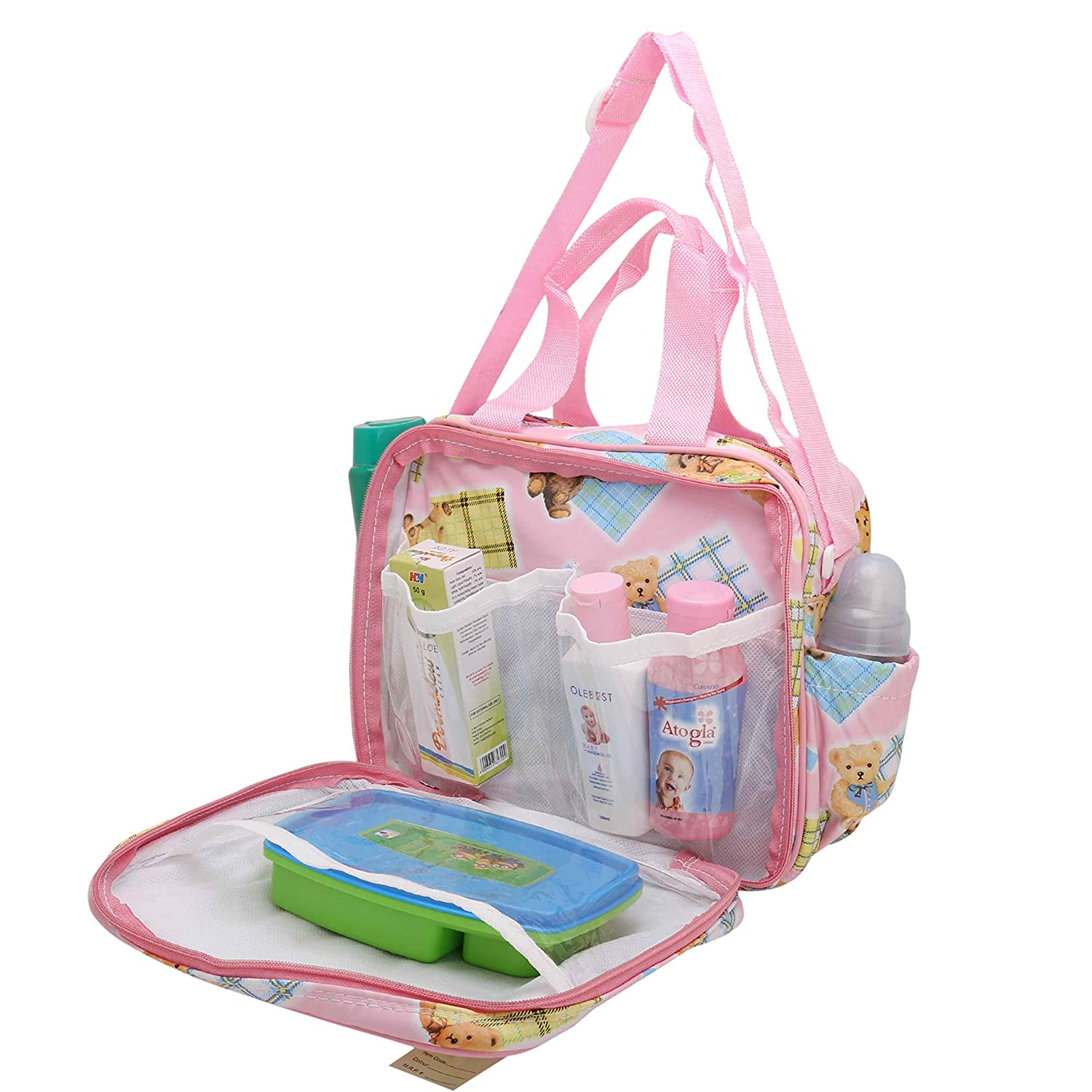 Pink//Blue Baby Diaper Nappies Bag Changing Mother/'s Shoulder Handbag Mummy Bags