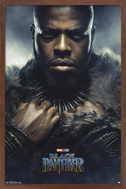 Trends International Marvel Cinematic Universe - Black Panther - M'Baku One Sheet Wall Poster, 22.375