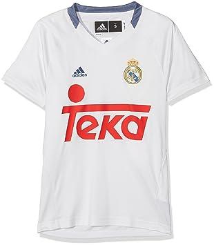 Adidas RM TRG tee Camiseta Línea Real Madrid CF, Hombre: Amazon.es: Deportes y aire libre