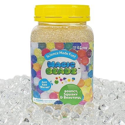 Amazon Magic Beadz Clear Gel Water Beads Transparent Jelly