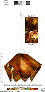 product image for Jezebel Signature JRWH-FP16-EAR-TRWH White Flame Track Light, Large, Earth