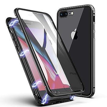 coque iphone 8 plus verre trempe arriere
