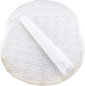 YG_Oline 10 Pack 10 inch Silicone Steamer Liners Steamer Mesh Mat