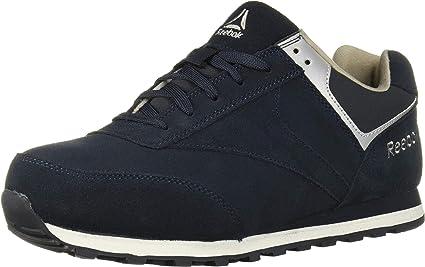 Work Leelap Steel Toe Sneaker Navy Blue
