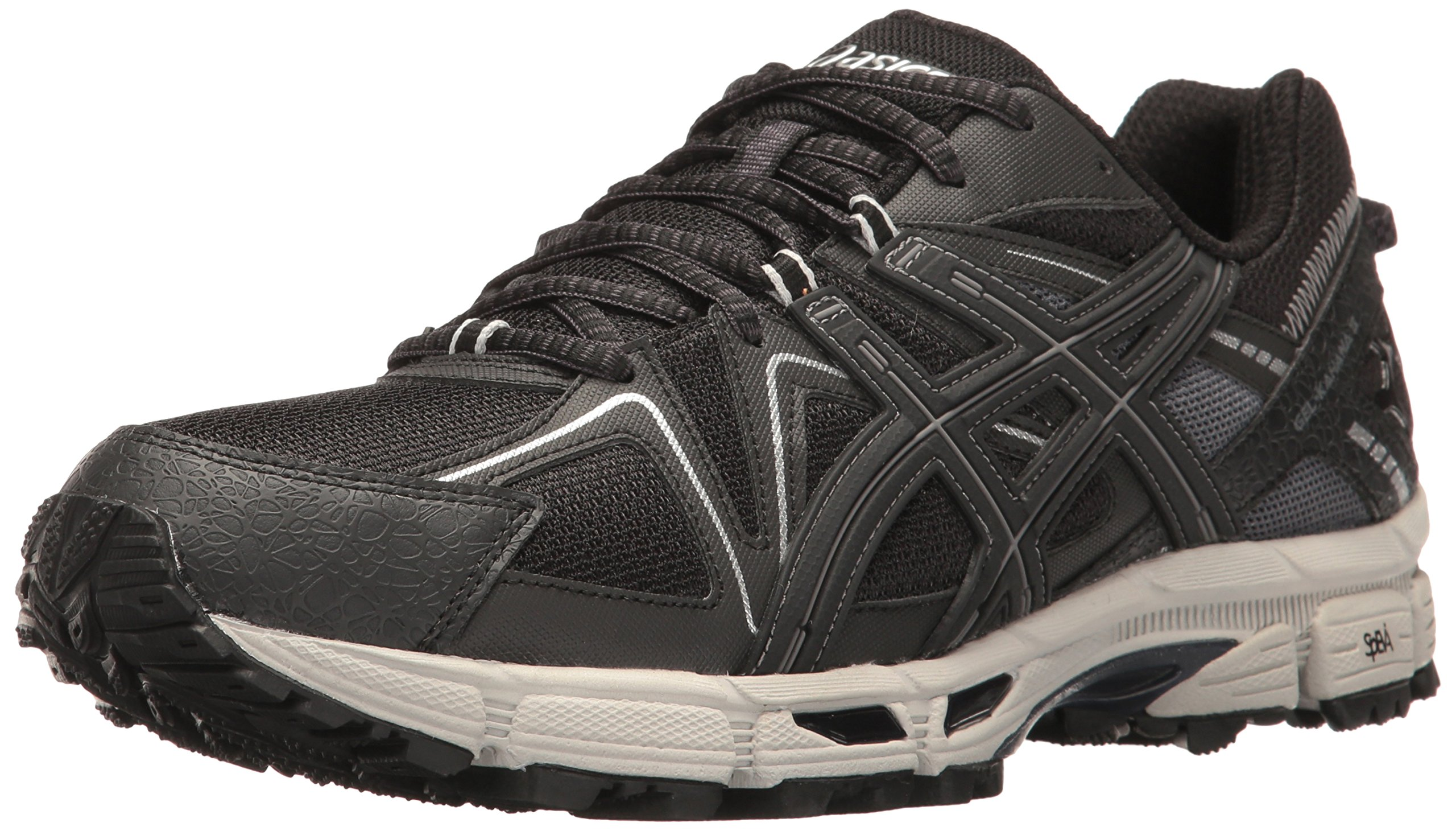 ASICS Men's Gel-Kahana 8 Trail Runner, Black/Onyx/Silver, 7 M US