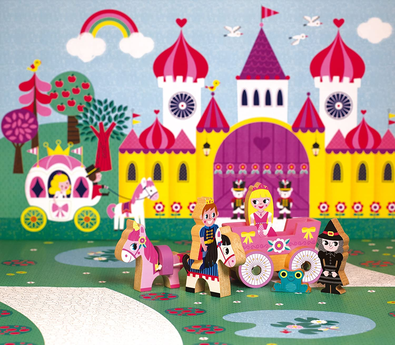 Princesses Playset Janod Mini Story