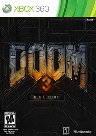 Microsoft Xbox 360 Doom 3 Bfg Edition Con Doom Póster Incluido Reproduce En Xbox One Bethesda Softworks Inc Video Games