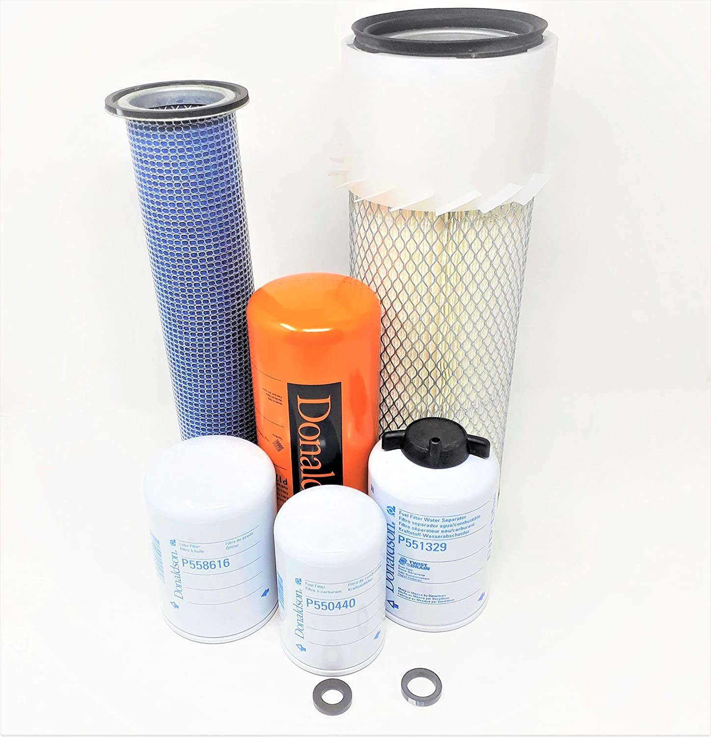 Donaldson Axial Seal Air Filters Case 1845C /& 1840 Maintenance Filters Kit